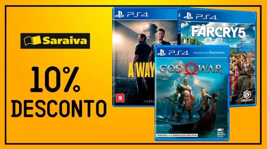 Aproveite! God of War, A Way Out e Far Cry 5 com bons descontos
