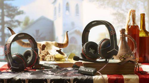 Ubisoft, em parceria com a Thrustmaster, anuncia headsets de Far Cry 5