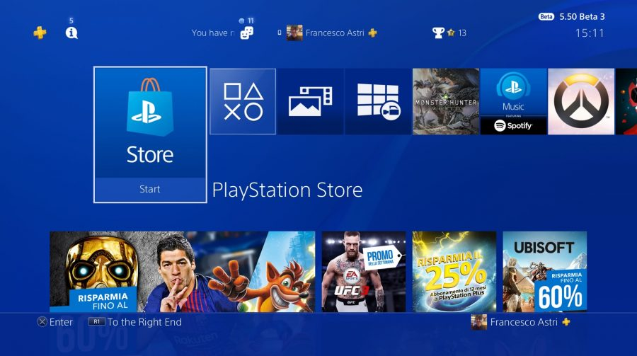 Rumores do update 6.0 indicam mudanças na PlayStation Store