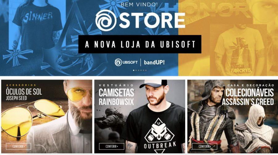 Ubisoft amplia sua loja de itens e agora oferece colecionáveis; confira
