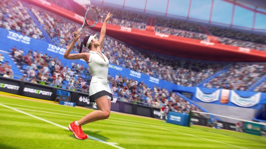 Tennis World Tour chega ao PS4 em 22 de maio; veja trailer