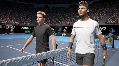 Nadal na capa e críticas no YouTube: Big Ant anuncia AO International Tennis