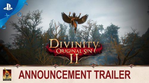 Divinity Original Sin 2 é mais um RPG a caminho do PS4