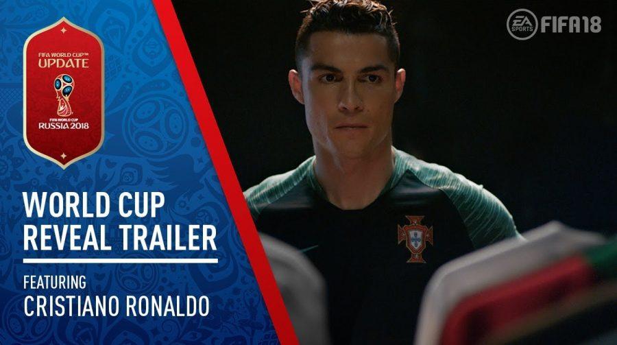 Confirmado: FIFA 18 terá DLC da Copa do Mundo em 29 de maio