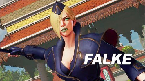 Falke chega ao Street Fighter V em 24 de abril; confira