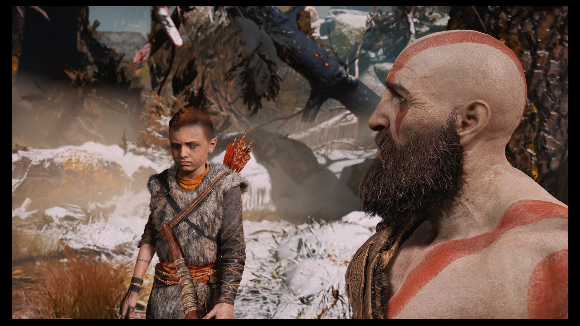 God of War: Kratos e Atreus