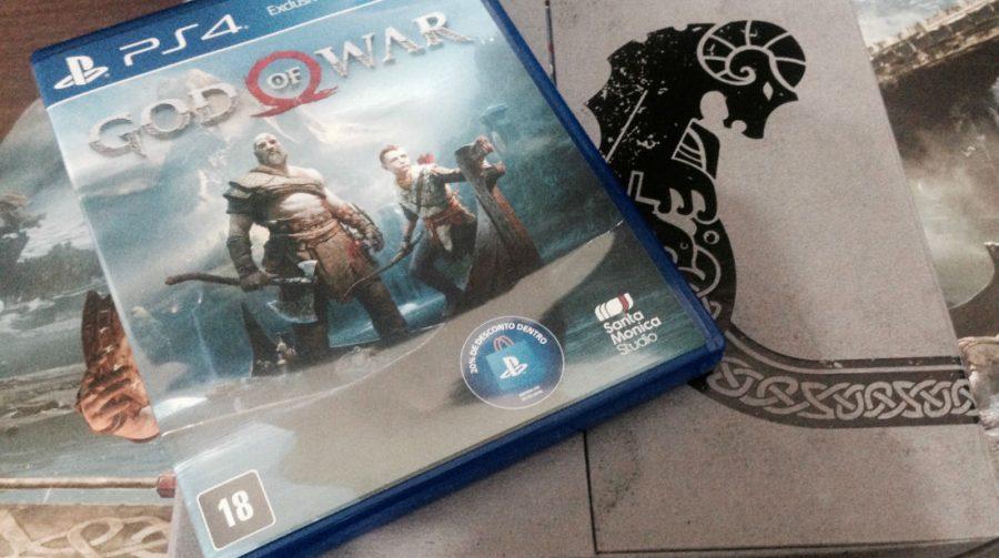Unboxing: edição especial de God of War; assista
