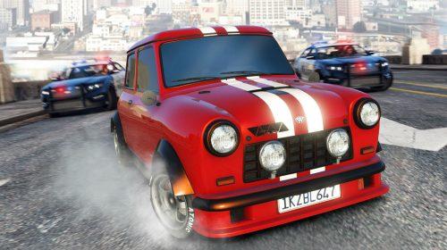 Grand Theft Auto V recebe modo