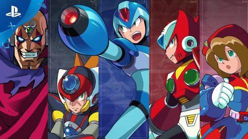 Capcom revela primeiro trailer da coleção Mega Man X Legacy