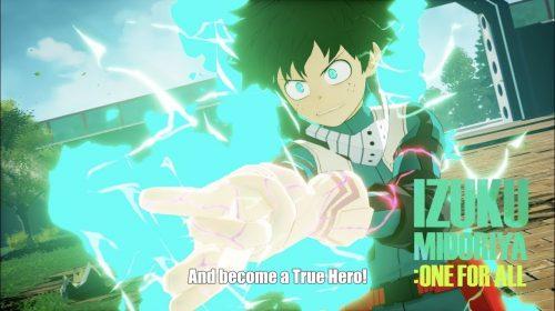 My Hero Academia: One's Justice recebe primeiro vídeo de gameplay; assista