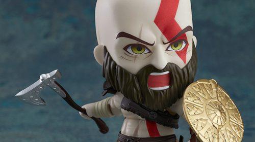 Kratos ganhará adorável boneco Nendoroid; veja imagens