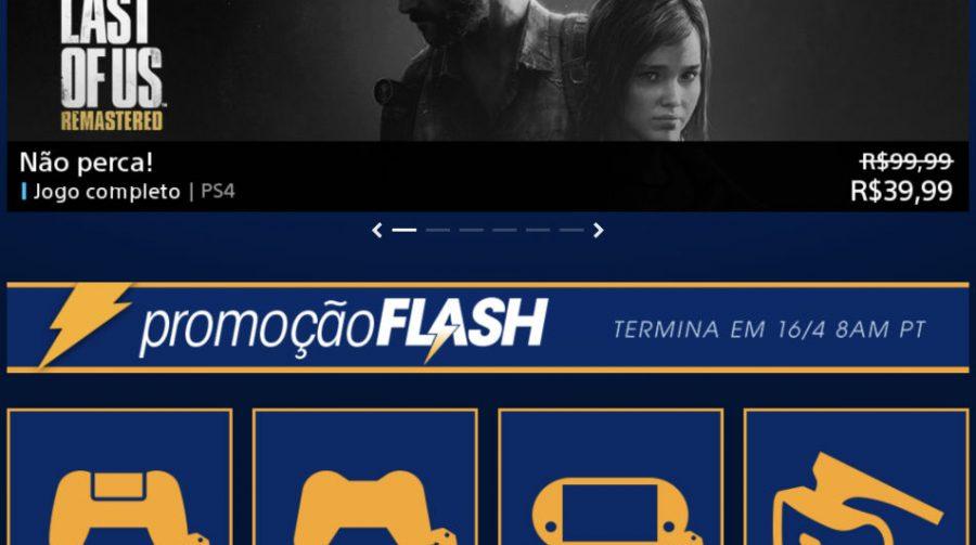 Sony revela Promoção Flash de Abril na PSN; confira jogos e preços