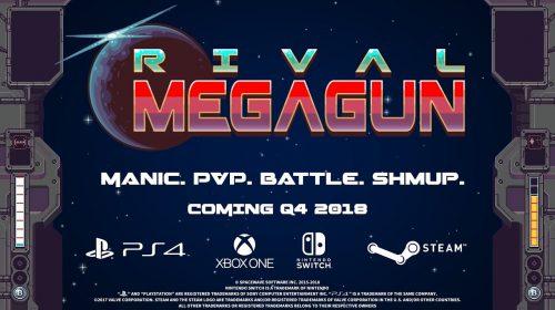 Jogo split-screen, Rival Megagun, é anunciado para o PS4