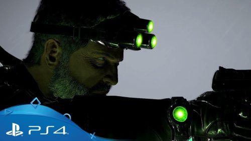 Sam Fisher de Splinter Cell: detalhes extras; Fim de Semana gratuito