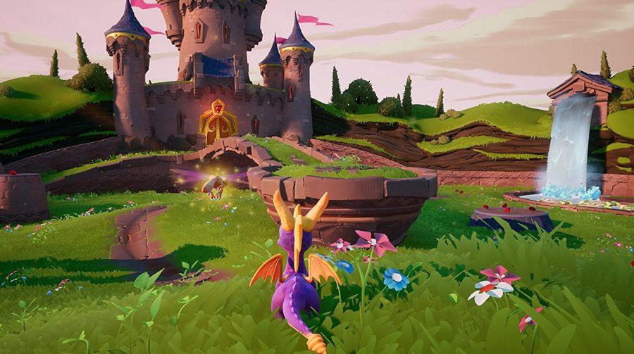 Gameplay de Spyro Reignited Trilogy aparece no Twitter; assista
