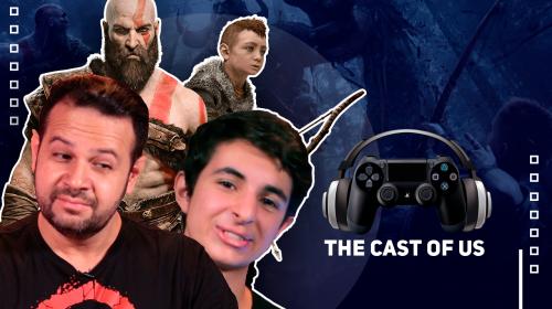 The Cast of Us #14: com Ricardo Juarez (Kratos) e Lipe Volpato (Atreus)