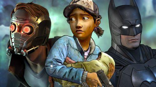 Triste! Jogos da Telltale Games estão sendo removidos da Steam