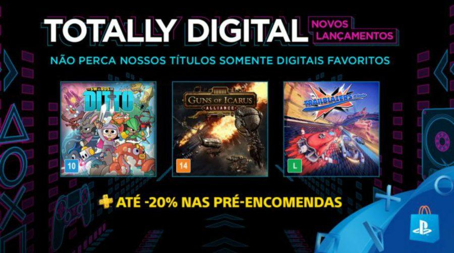 Sony anuncia Totally Digital: pré-venda de jogos com descontos; entenda