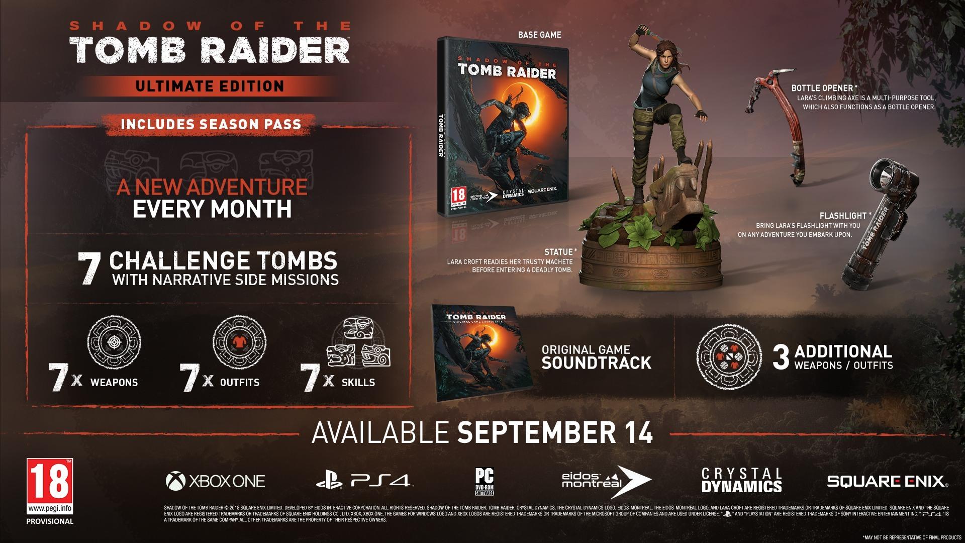 Ultimate Edição - Shadow of the Tomb Raider