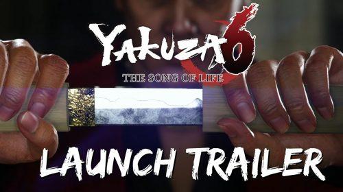 Novo trailer de Yakuza 6: The Song of Life destaca boa recepção
