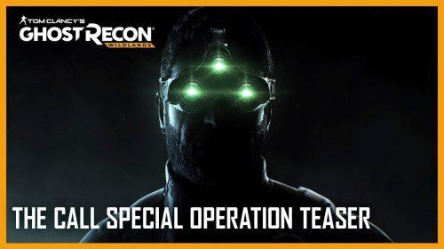 Splinter Cell estará em nova operação de Ghost Recon: Wildlands