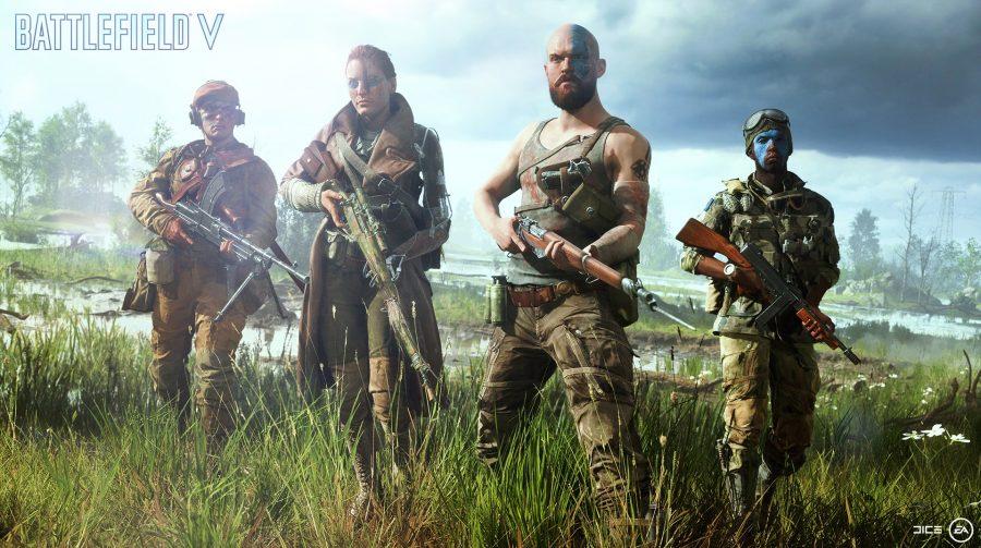 Battlefield V terá facções alemã e britânica no lançamento