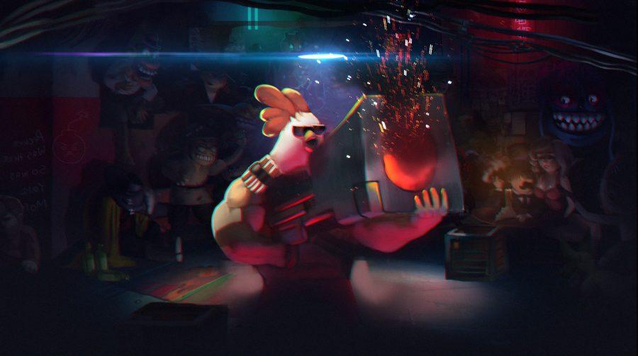 Chicken Assassin: Reloaded promete ação caótica no PS4; conheça