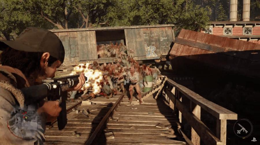 Novo gameplay de Days Gone revela imensa horda de zumbis; assista