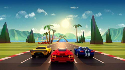 Horizon Chase Turbo chega com mais de 100 pistas em belos cenários