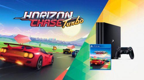 Ganhe um PS4 Pro! PlayStation promove campeonatos de Horizon Chase Turbo na Saraiva