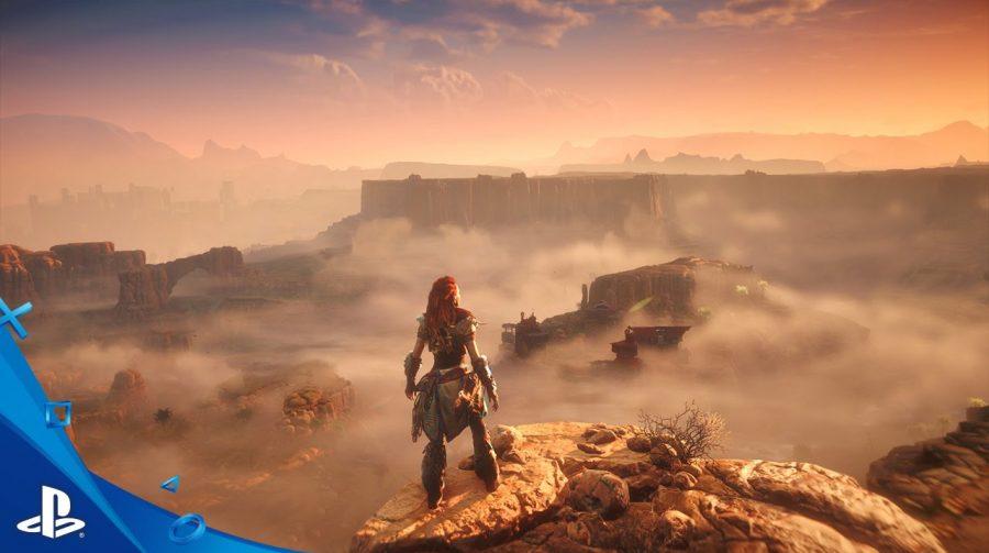 Versão inicial de Horizon: Zero Dawn tinha mapa