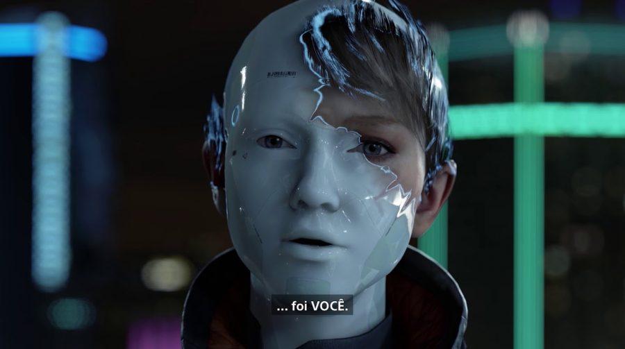 Novo trailer de Detroit Become Human destaca androide Kara