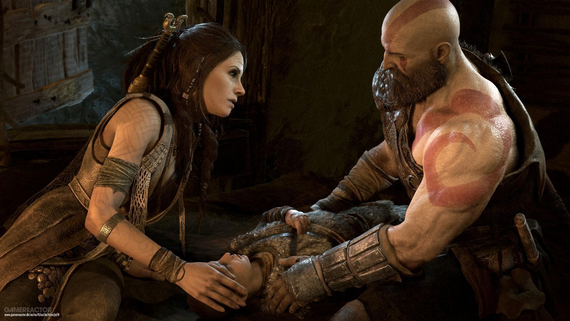 Kratos com Freya