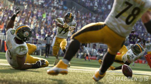 Madden NFL 19 sai em 10 de agosto com melhorias no gameplay