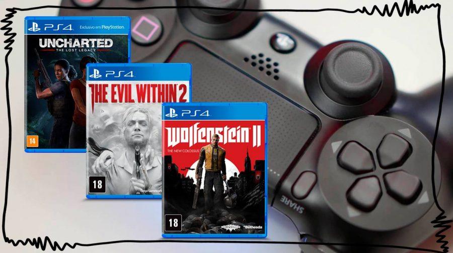 Baixou! Jogos de PS4, PSVR, DualShock 4 por melhores preços; veja