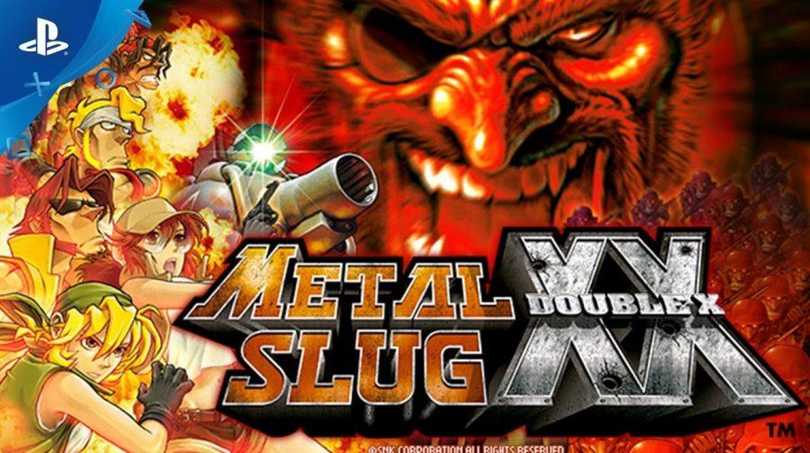 Tiroteios clássicos! Metal Slug XX chega ao PS4 no fim do mês