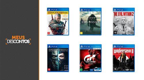 Descontos do Fim de Semana! Veja os melhores preços em jogos