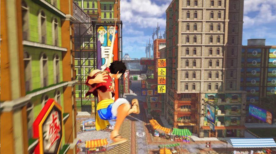 One Piece: World Seeker: novo trailer destaca combates e grande cidade
