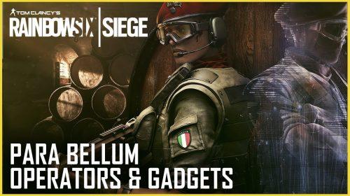 Ubisoft revela Alibi e Maestro, novos operadores de Rainbow Six Siege