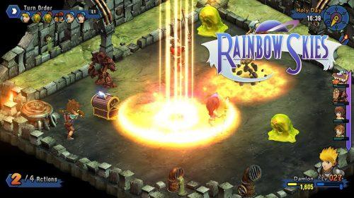 Rainbow Skies, RPG de turno, chega ao PS4 em junho