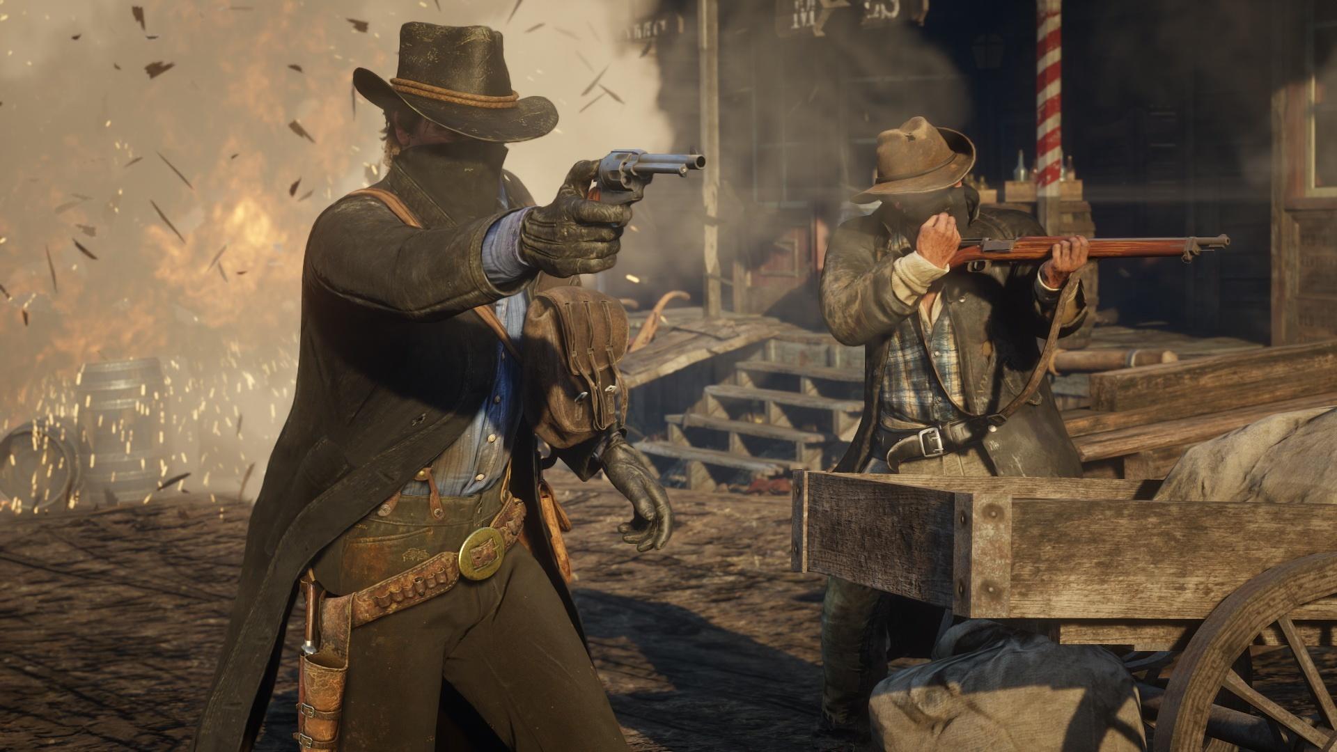 Red Dead Redemption 2: novas e belíssimas imagens destacam visual do jogo 12