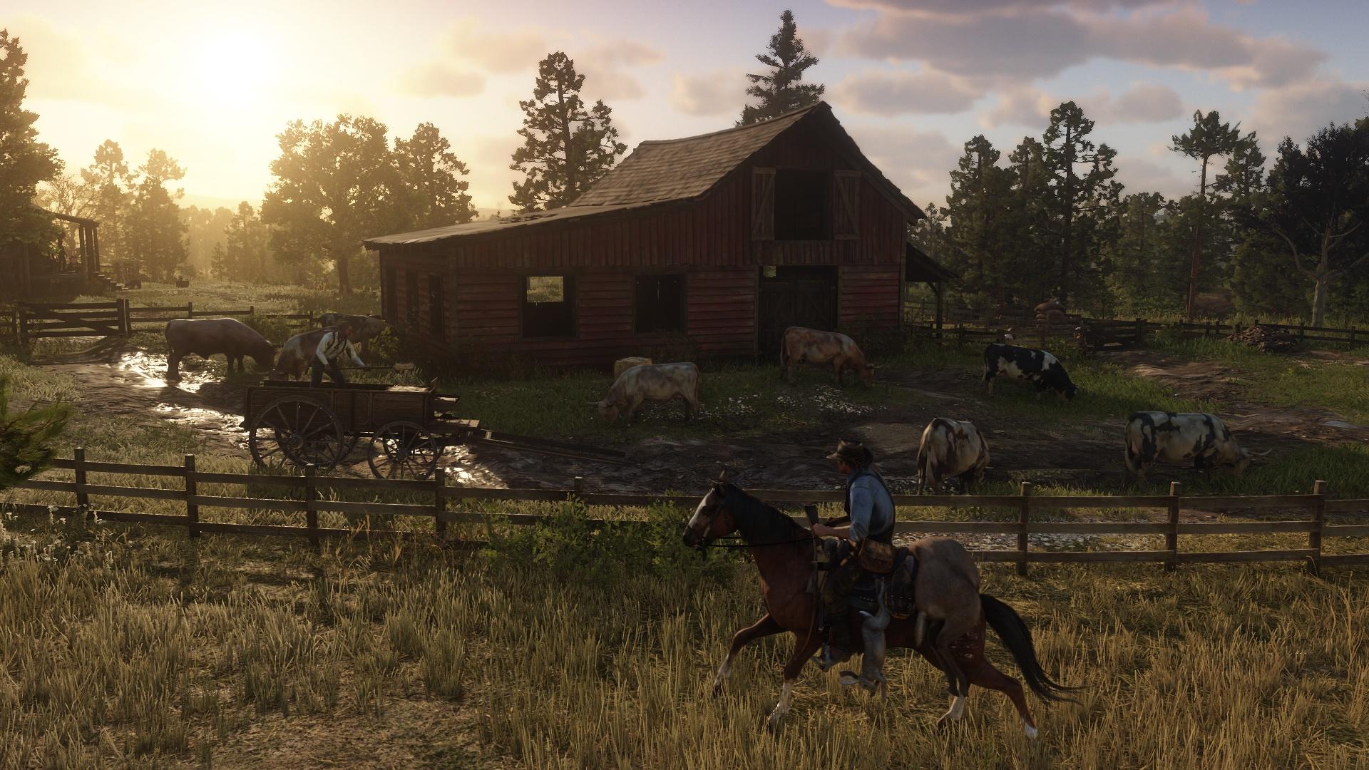Red Dead Redemption 2: novas e belíssimas imagens destacam visual do jogo 17