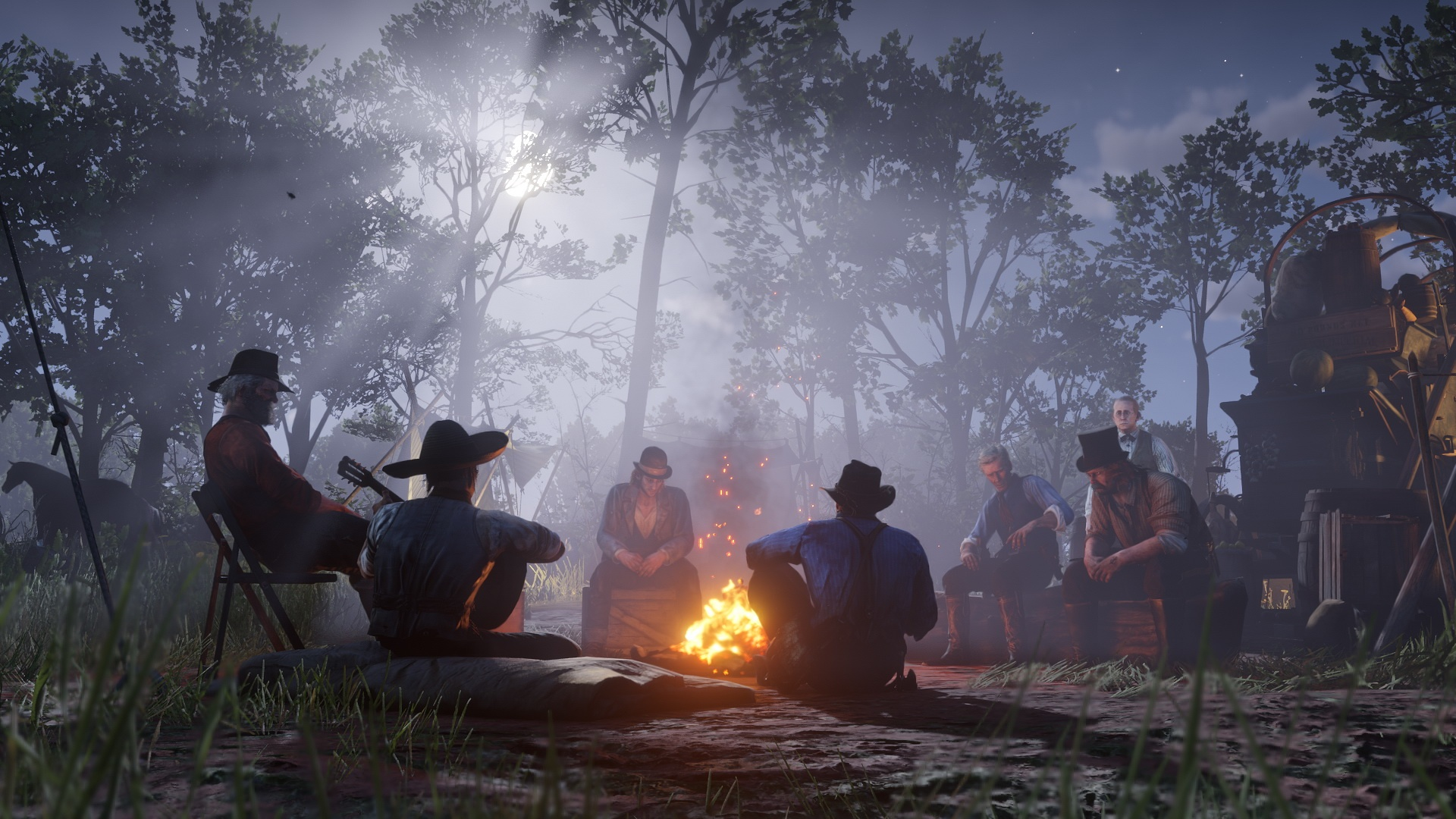 Red Dead Redemption 2: novas e belíssimas imagens destacam visual do jogo 9