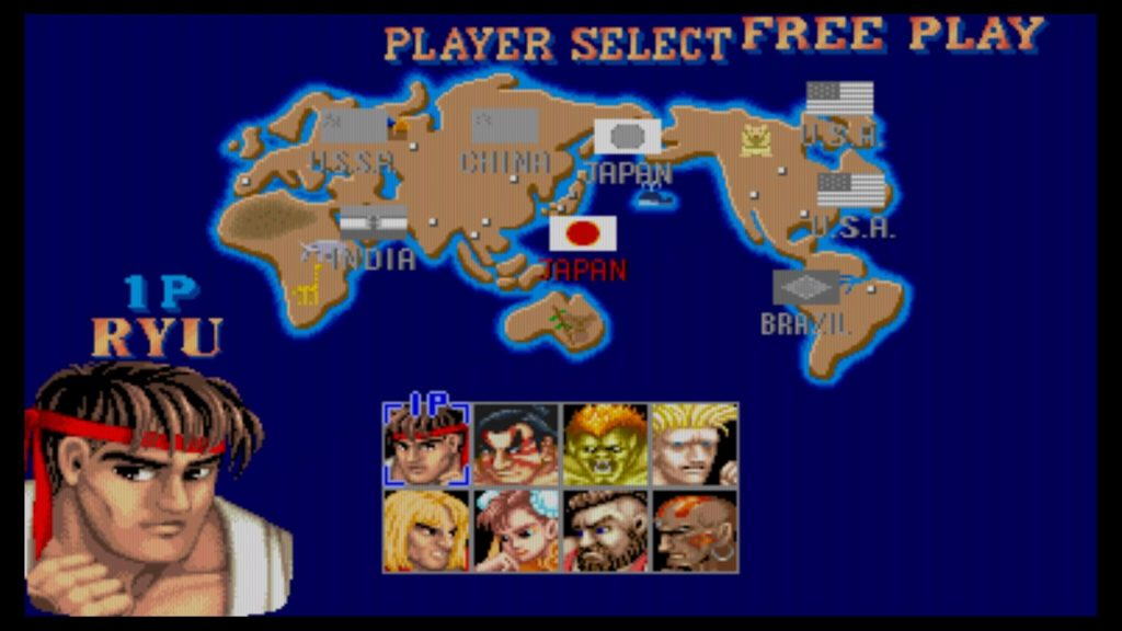 SF 30th Collection - SF 2 World Warrior