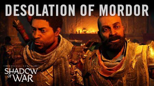 Desolação de Mordor, expansão de Sombras da Guerra, já disponível