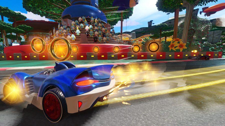 Wal-Mart 'vaza' imagens, informações e novidades de Sonic Team Racing