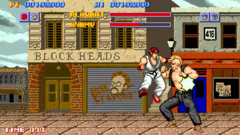 Street Fighter 1 - Gameplay