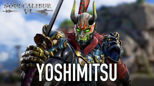 Yoshimitsu estará em SoulCalibur VI; confira gameplay de anúncio