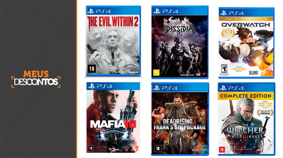 Economize na compra! Veja os melhores preços em jogos de PS4