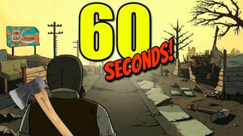 60 Seconds! é anunciado para consoles; conheça o game